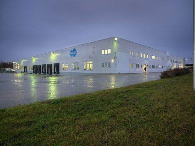 Momox Logistikstandort Neuenhagen bei Berlin