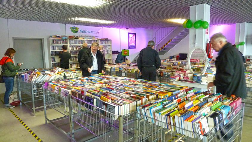 Recap: So war der Lagerverkauf bei Buchmaxe in Darmstadt