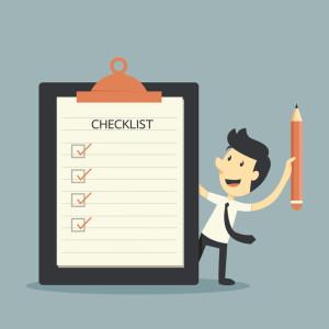 Checkliste zum Bücher verkaufen